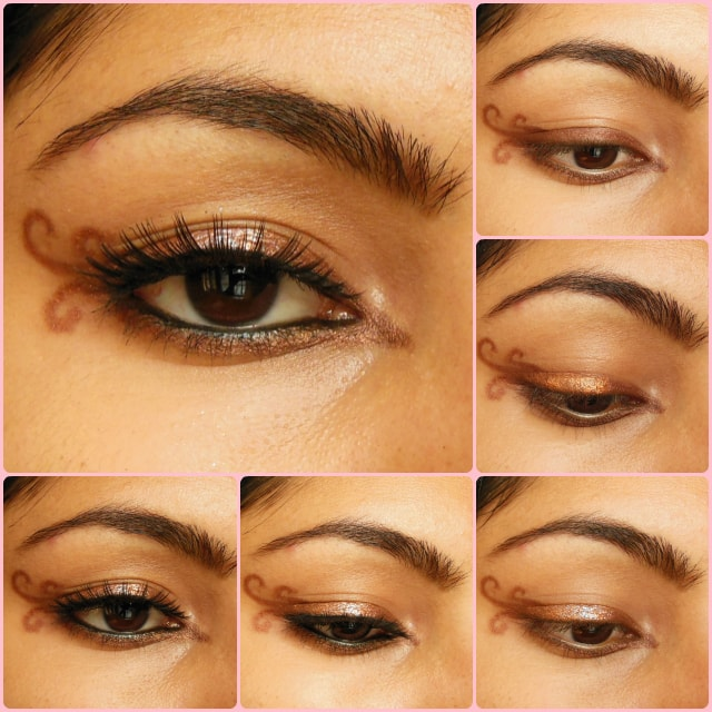 Eye Makeup Tutorial - Swirly Winged Eye Liner
