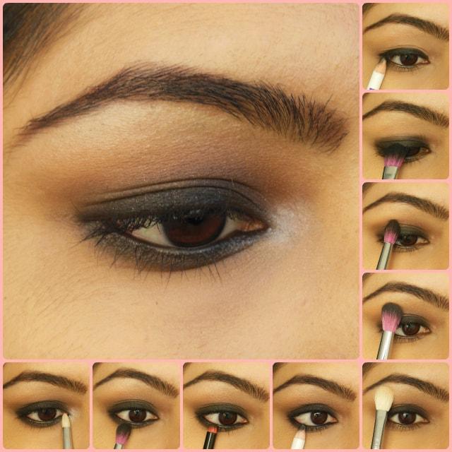 Gerua Song Inspired Eye Makeup Tutorial