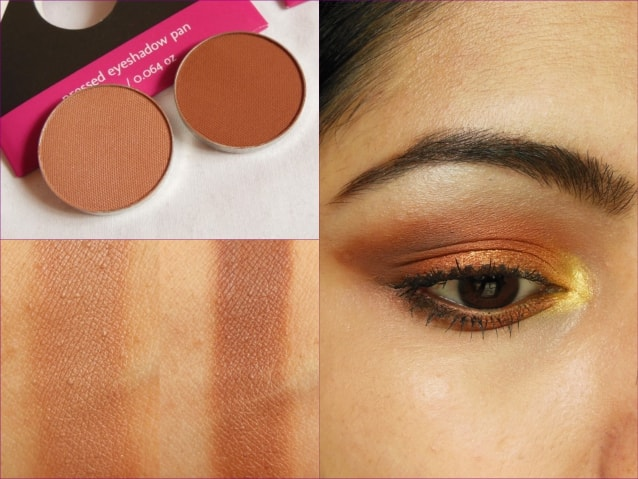 Makeup Geek Cocoa Bear and Frappe Eye Shadow Look