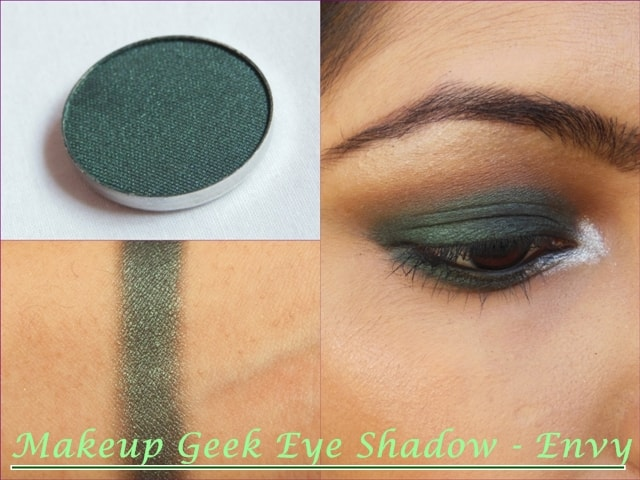 Makeup Geek Envy Eye shadow Look