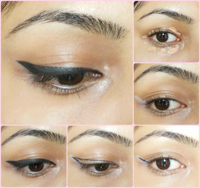 Eye Makeup Tutorial- Thick Winged Liner