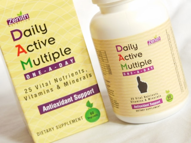 Zenith Nutrition Daily Active Multiple One A Day Capsules Review