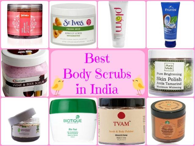 Best Body Scrubs Exfoliators in India