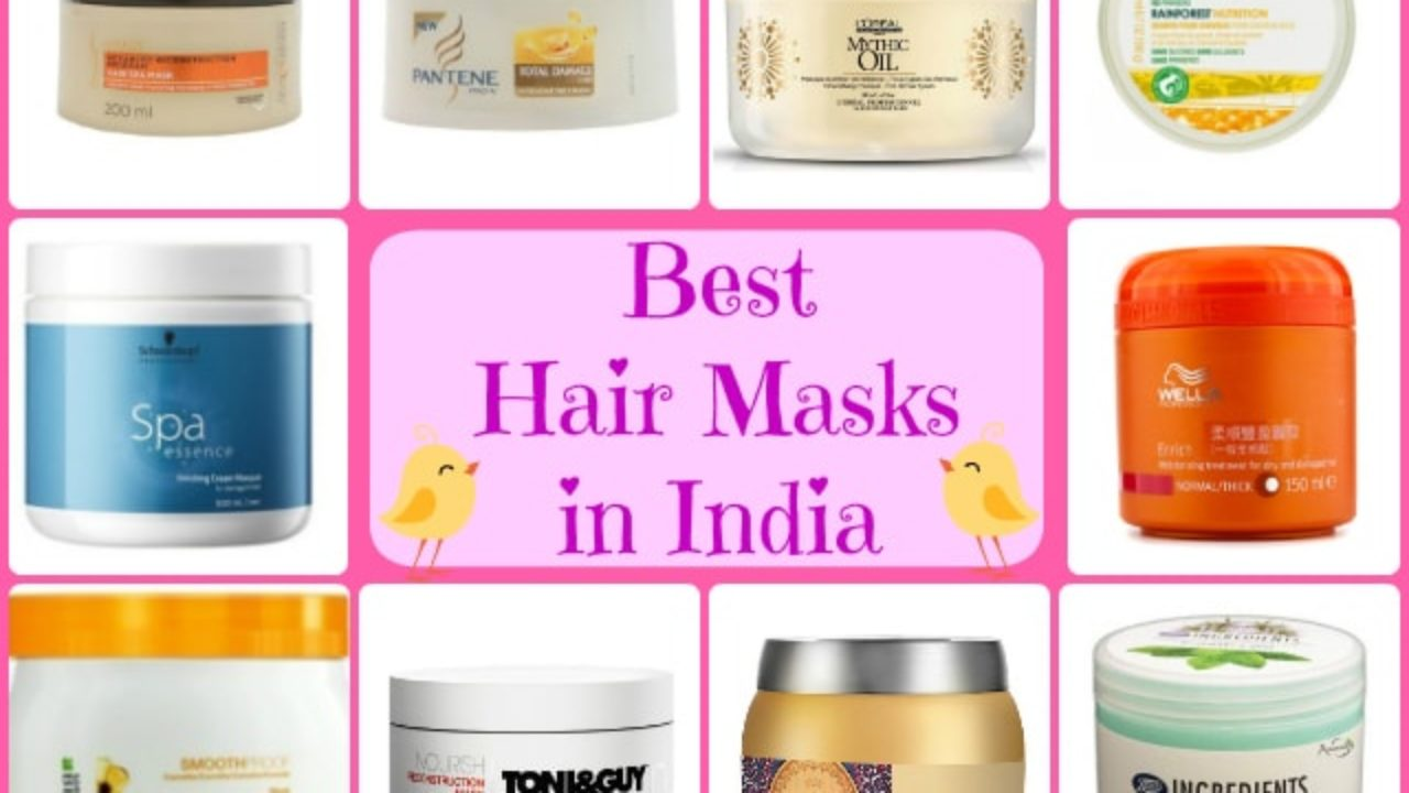 Hair Mask For Frizzy Hair In India
