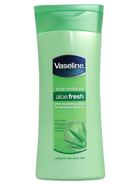 Best Summer Body Lotion-Vaseline Aloe Fresh Body Lotion
