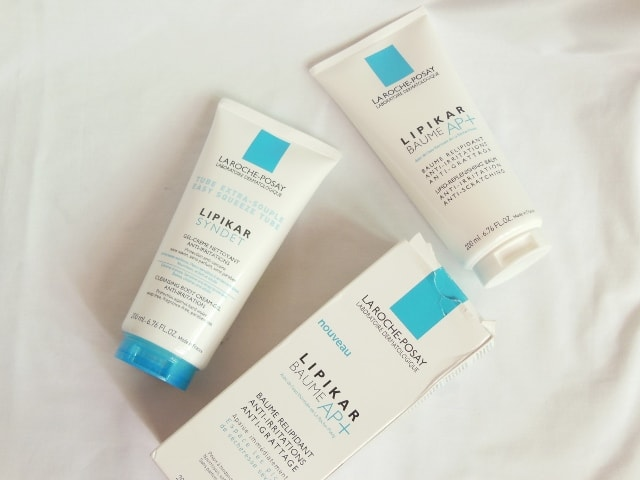 La Roche Posay Lipikar Baume and Cleansing Gel