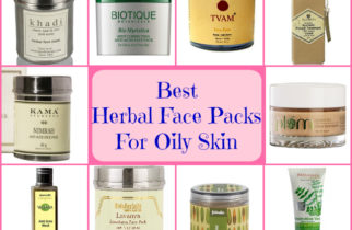 Best Herbal Face Packs for Oily Acne Prone Skin
