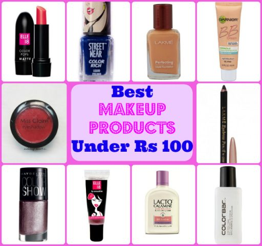 Best makeup Products Under Rs 100 In India