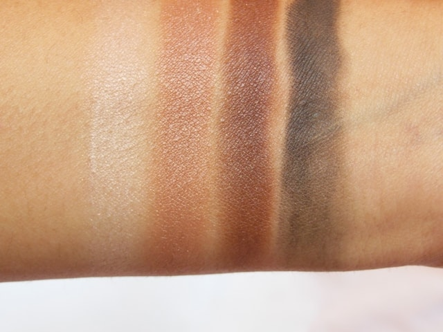 Kiko Milanno Neo Muse Eye shadow palette Mahogany Silhouette Swatch 1