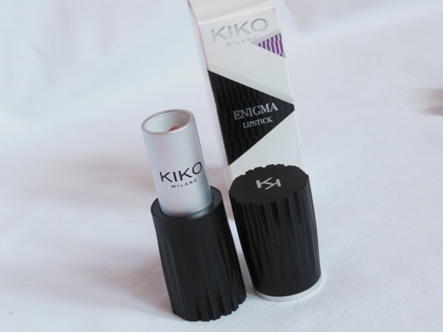Kiko Milano Enigma Lipstick Packaging