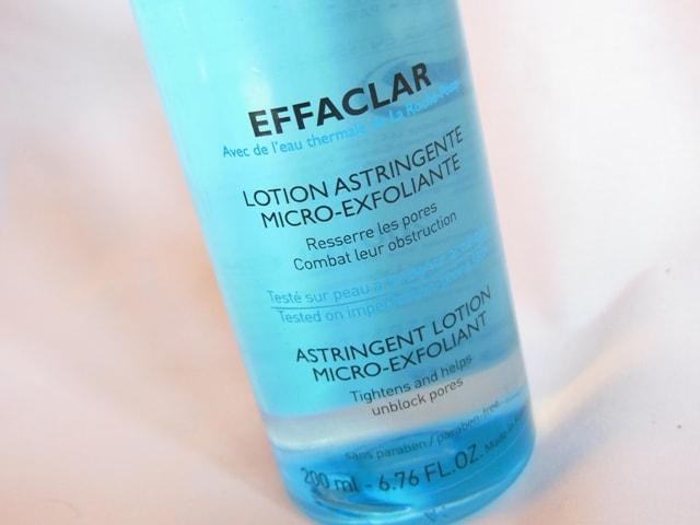 La Roche Posay Effaclar Astringent Lotion Toner Claims