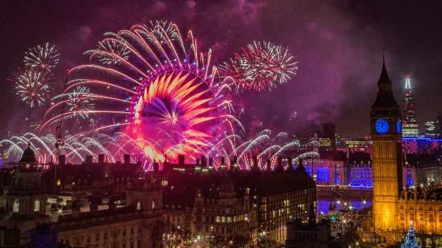 New Year Celebrations in London