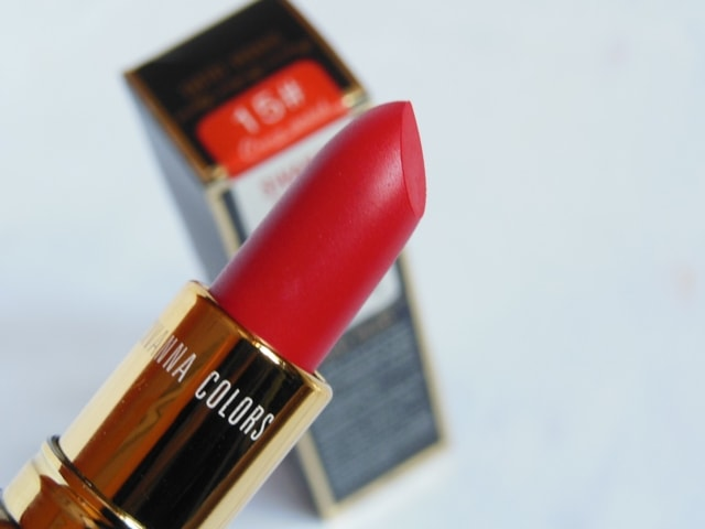 Sivanna Colors Gold Matte Lipstick No. # 15