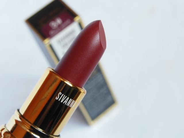 Sivanna Colors Gold Matte Lipstick No. # 3