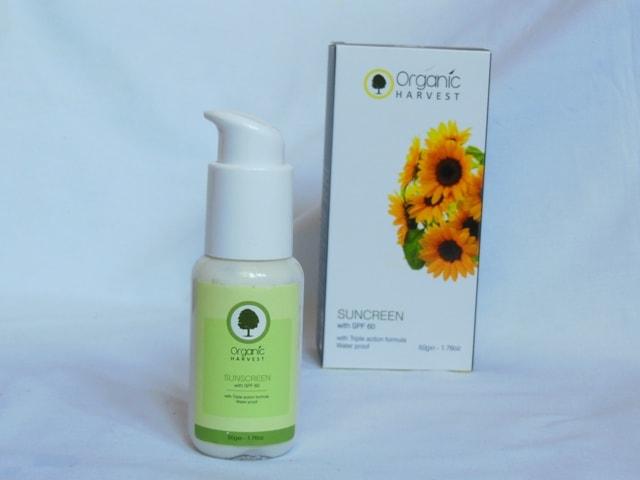 Winter Skincare for Glowing Skin - Organic Harvest Sunscreen SPF 60