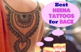 Best Trending Heena Tattoo Designs for Back