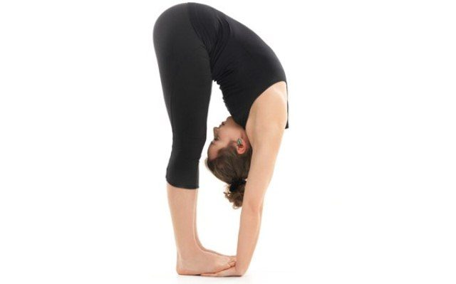 Best Yoga Asanas to lose Belly Fat - Padahastasana