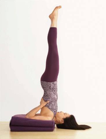 Best Yoga Poses to Stop Hair fall - Sarvangasana