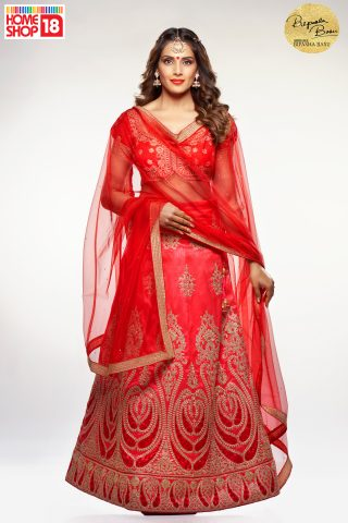 Bipasha_Lehenga with Homeshop18