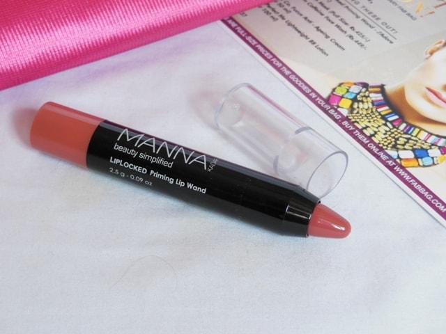 January fab Bag 2017 Products -Manna Kadar Lip Crayon