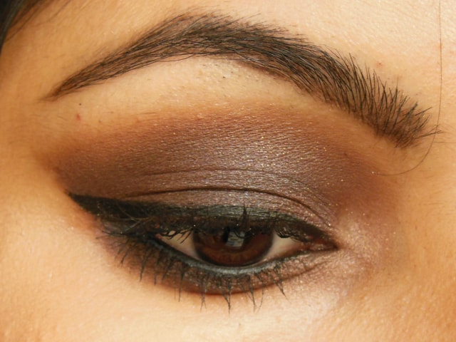 Kiko Milano Eye Shadow Palette Makeup Look - Eyes