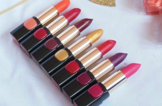 L'Oreal Paris BoldInGold Lipsticks Review