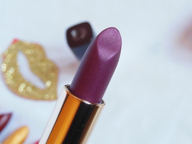 L'Oreal Paris BoldInGold Lipsticks Review - Plum Gold