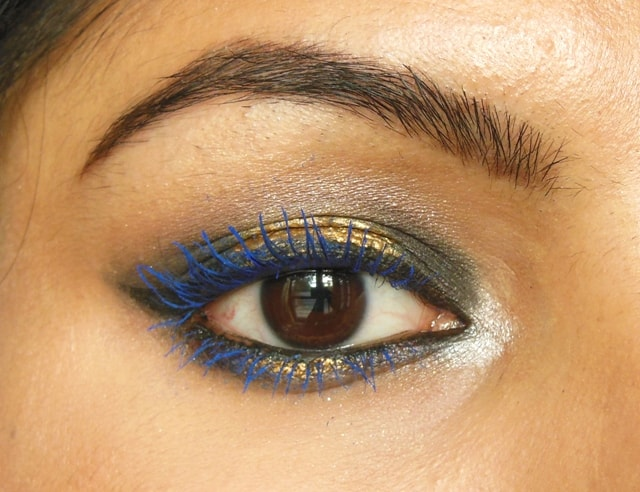 Lakme Eyeconic Curling Mascara Royal Blue EOTD