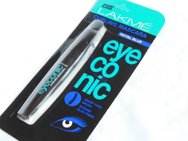 Lakme Eyeconic Mascara Royal Blue Packaging