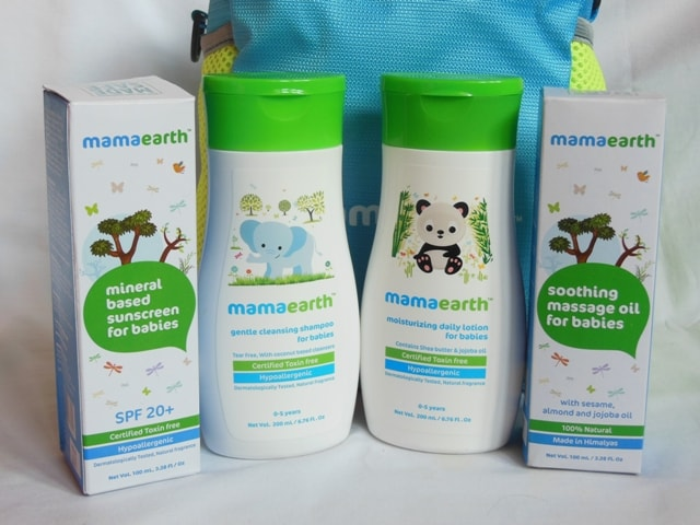 Mamaearth Baby Skincare Kit Products