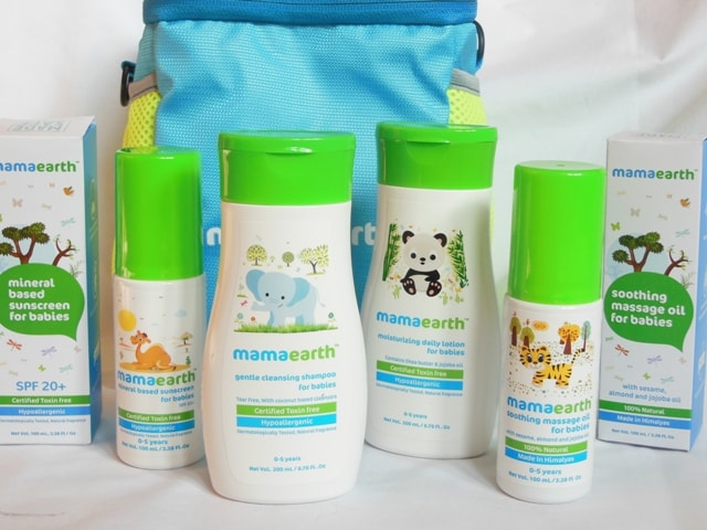 Mamaearth Baby Skincare Products Packaging Review