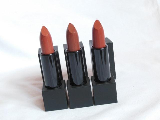 NYKAA So Matte Nude Lipsticks
