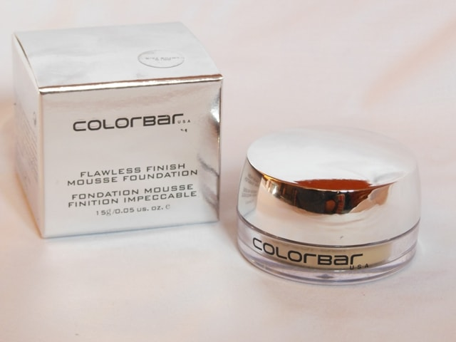 New Launch from Colorbar Makeup 2017 - Colorbar Flawless Mousse Foundation
