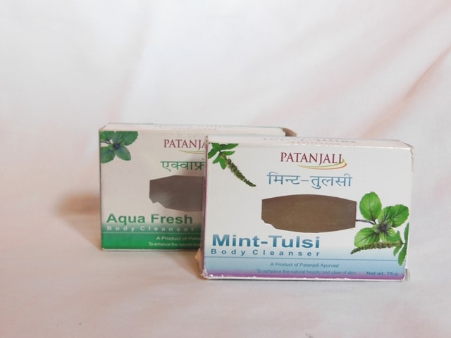 Patanjali Ojas Mint and Tulsi , Aquafreh Body Cleanser