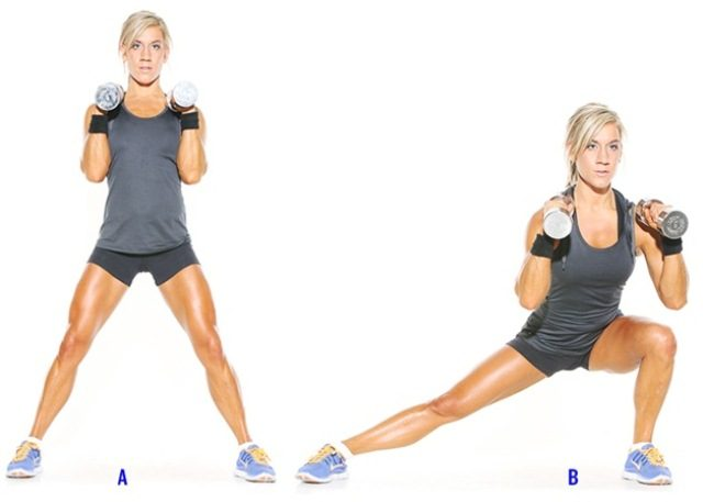 Top 10 Cardio Workouts for Weightloss at Home - Side Lunges