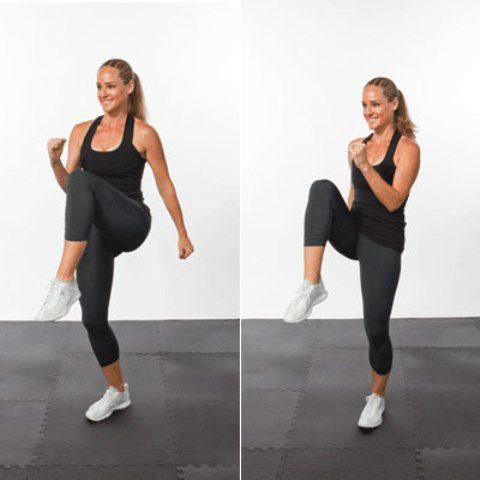 Top 10 Cardio Workouts for Weightloss at Home - Spot Jogging