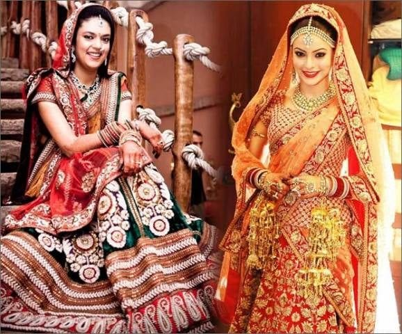 Where to Buy Bridal Lehenga in Delhi - Karol Bagh