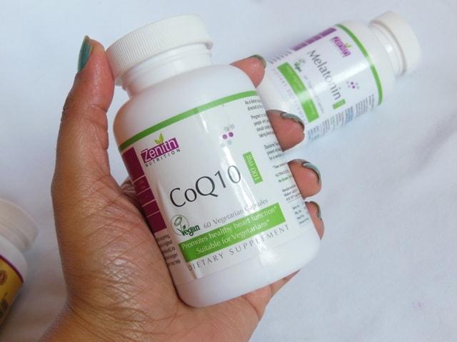 Zenith Nutrition COQ 10 Supplement Vegetarian Capsules