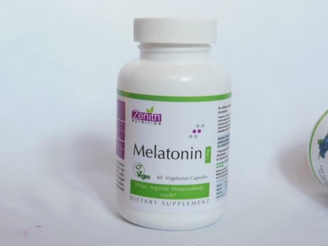 Zenith Nutrition melatonin Supplement Capsules