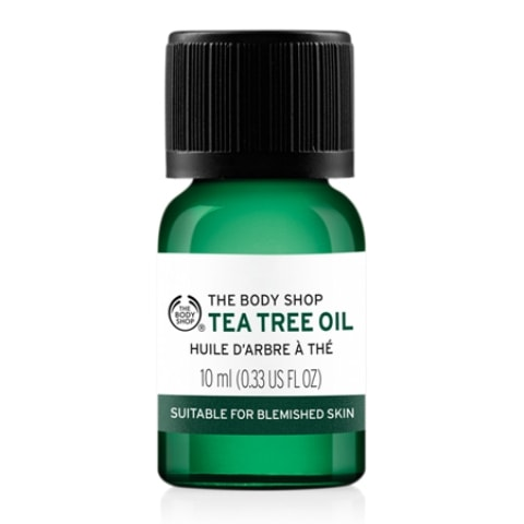 Best Facial Oils for Oily skin - The Body Shop Tea Tree Oil