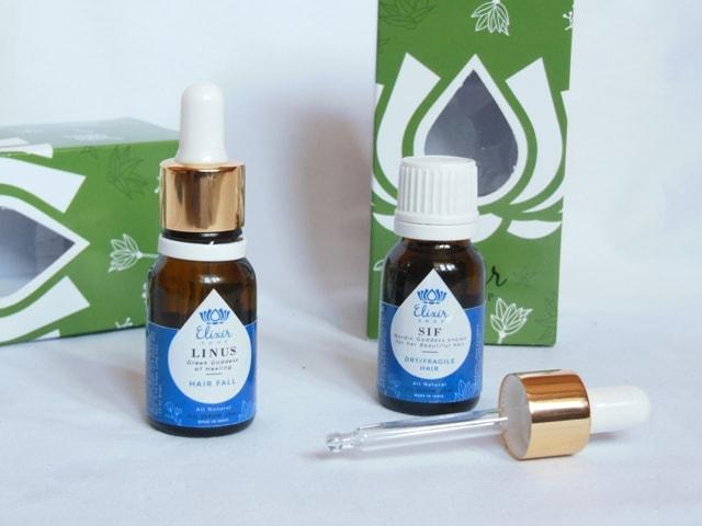 Elixir Shop Hair Oil - SIF Packaging