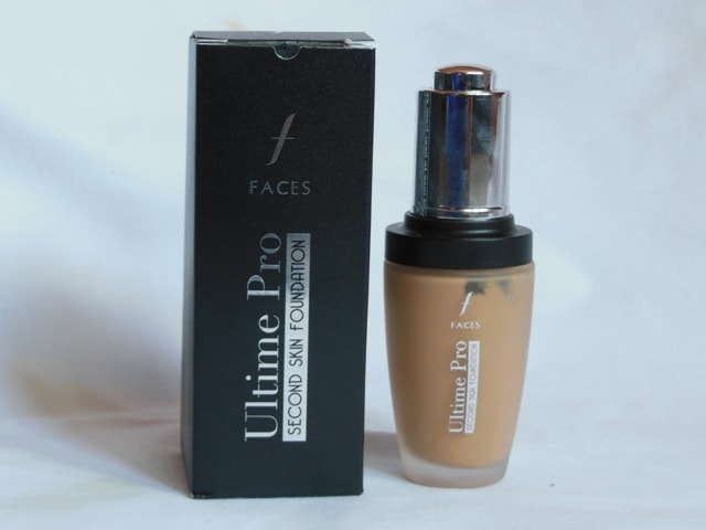 Faces Ultime Pro Second Skin Foundation - Beige Packaging