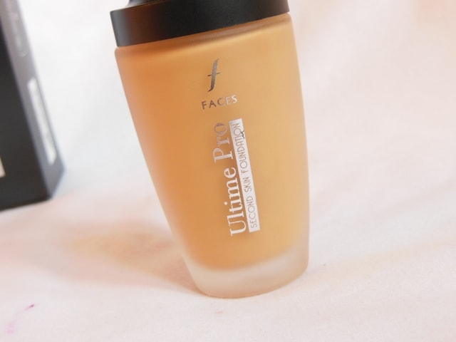 Faces Ultime Pro Second Skin Foundation Review