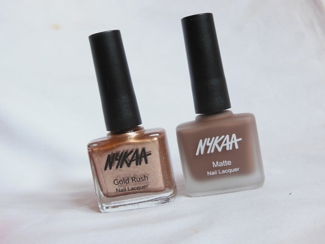 NYKAA Haul - NYKAA Nail PAints