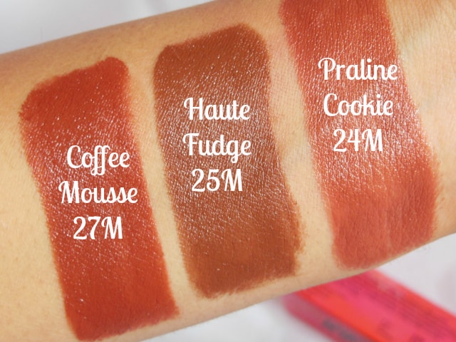 NYKAA So Matte Nude Lipstick Swatches