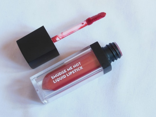 Sugar Smudge Me Not Liquid Lipstick - Rust Lust