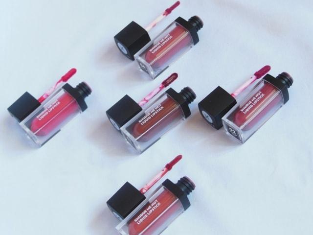Sugar Smudge Me Not Liquid Lipsticks - Best Liquid Lipsticks in India