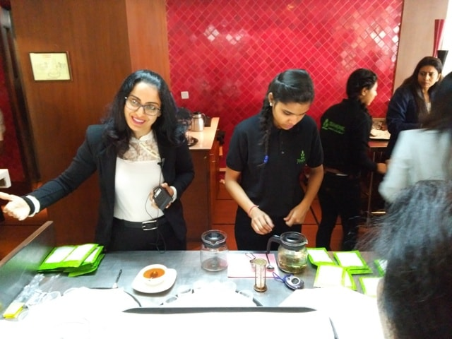 Tea Tasting Session with TeaMonk Global