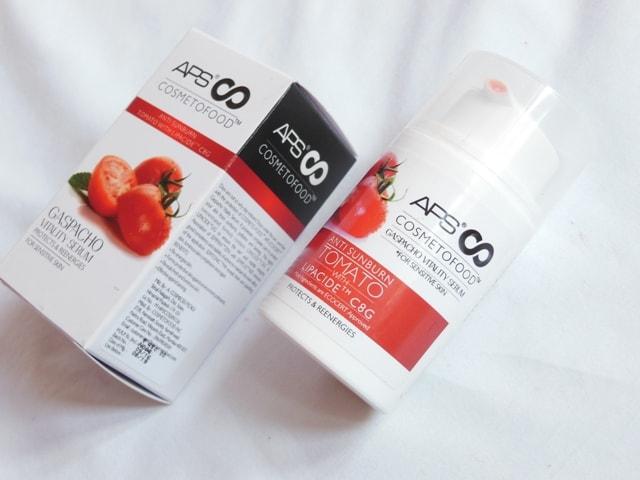 APS Cosmetofood Gaspacho Vitality Serum Review