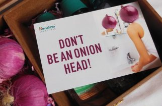 Don't be an Onion Head -New Himalaya Mouthwash